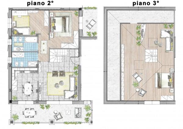 Appartamento in vendita a Cassano d'Adda, Naviglio, 166 mq