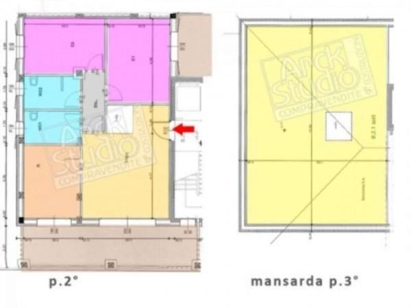 Appartamento in vendita a Cassano d'Adda, Naviglio, 166 mq - Foto 16