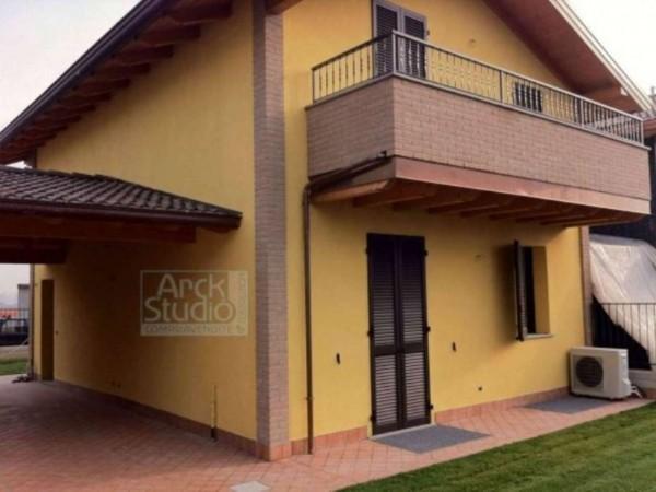 Villa in vendita a Cassano d'Adda, Con giardino, 170 mq - Foto 4