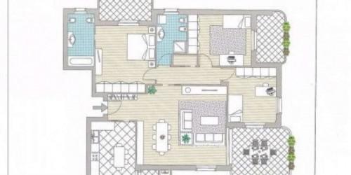 Appartamento in vendita a Truccazzano, Centro, Con giardino, 69 mq - Foto 3