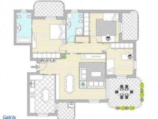 Appartamento in vendita a Truccazzano, Centro, Con giardino, 69 mq - Foto 10