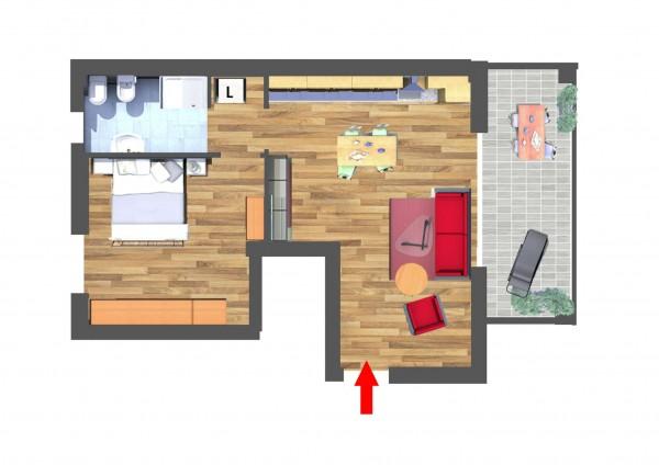 Appartamento in vendita a Cassano d'Adda, Naviglio, 66 mq