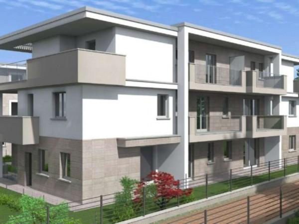 Appartamento in vendita a Cassano d'Adda, Cimbardi, Con giardino, 107 mq - Foto 5