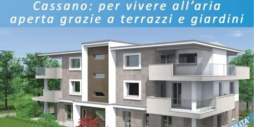 Appartamento in vendita a Cassano d'Adda, Cimbardi, Con giardino, 107 mq - Foto 3