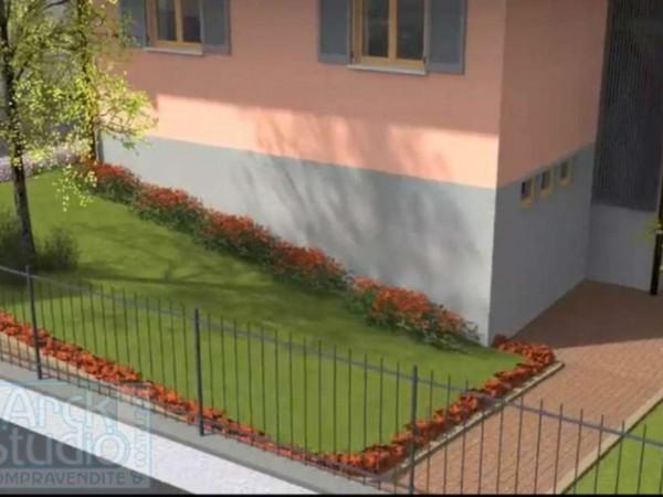 Appartamento in vendita a Cassano d'Adda, Cristo Risorto, Con giardino, 141 mq - Foto 12