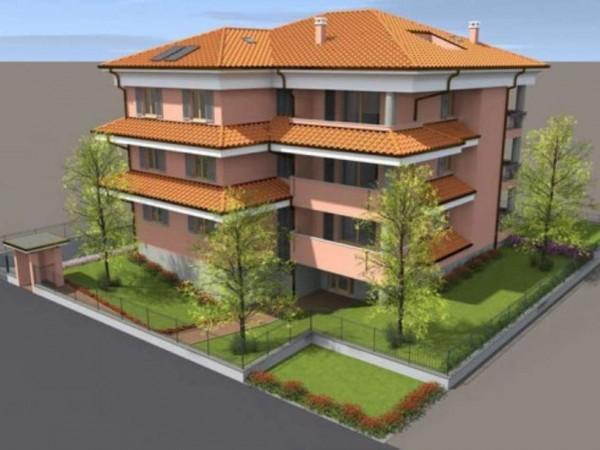 Appartamento in vendita a Cassano d'Adda, Cristo Risorto, Con giardino, 141 mq