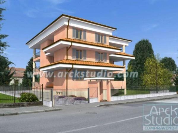 Appartamento in vendita a Cassano d'Adda, Cristo Risorto, Con giardino, 141 mq - Foto 4