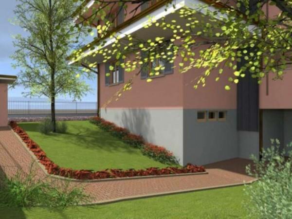 Appartamento in vendita a Cassano d'Adda, Cristo Risorto, Con giardino, 141 mq - Foto 2