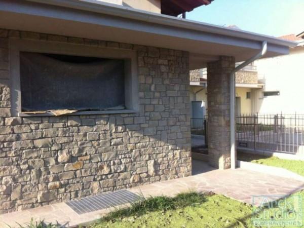 Villetta a schiera in vendita a Cassano d'Adda, Con giardino, 148 mq - Foto 11
