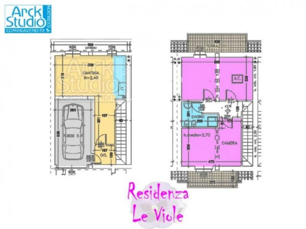 Villetta a schiera in vendita a Cassano d'Adda, Con giardino, 148 mq - Foto 16