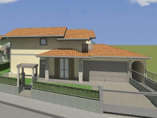 Villetta a schiera in vendita a Cassano d'Adda, Con giardino, 148 mq - Foto 4