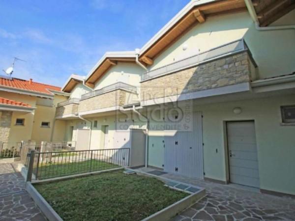 Villetta a schiera in vendita a Cassano d'Adda, Con giardino, 148 mq - Foto 29