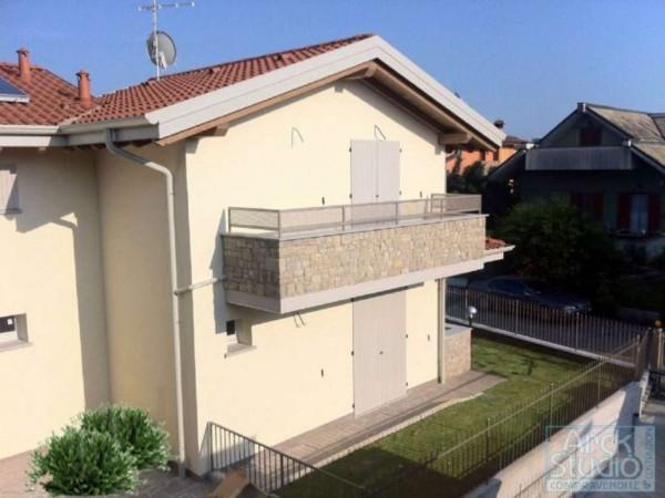 Villetta a schiera in vendita a Cassano d'Adda, Con giardino, 148 mq - Foto 12