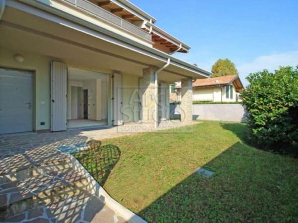 Villetta a schiera in vendita a Cassano d'Adda, Con giardino, 148 mq - Foto 27