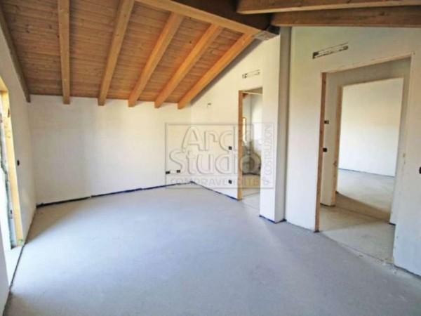 Villetta a schiera in vendita a Cassano d'Adda, Con giardino, 148 mq - Foto 24