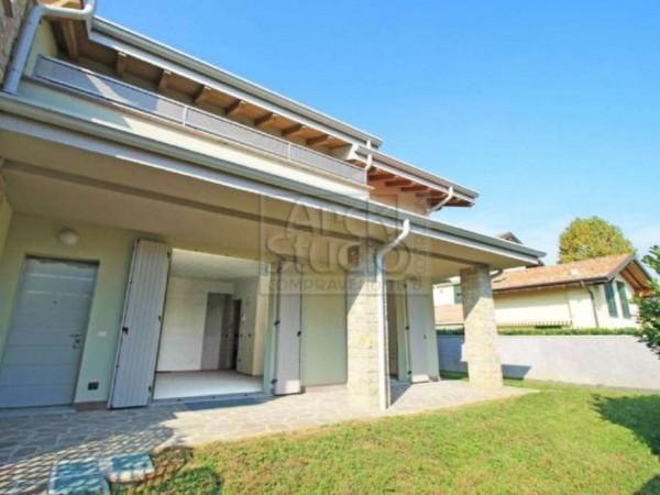 Villetta a schiera in vendita a Cassano d'Adda, Con giardino, 148 mq - Foto 30