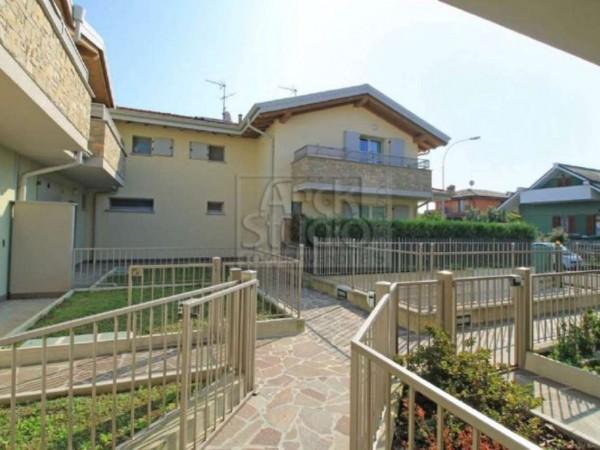 Villetta a schiera in vendita a Cassano d'Adda, Con giardino, 148 mq - Foto 21