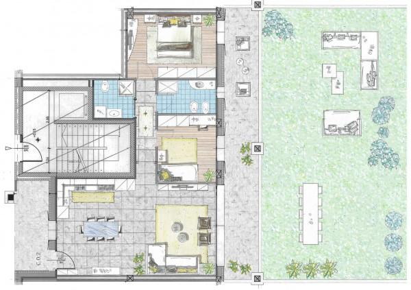 Casa indipendente in vendita a Cassano d'Adda, Naviglio, Con giardino, 132 mq