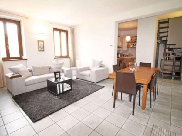 Casa indipendente in vendita a Cassano d'Adda, Con giardino, 103 mq