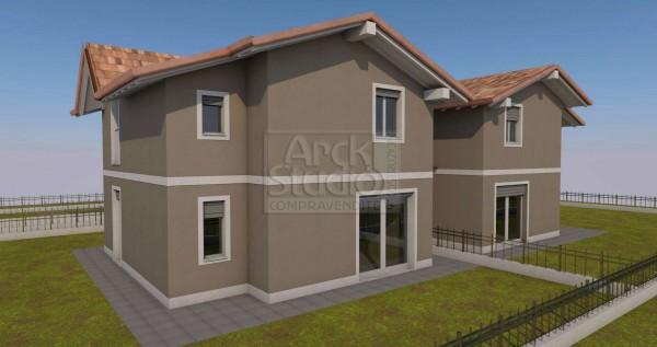 Villa in vendita a Cassano d'Adda, Con giardino, 190 mq