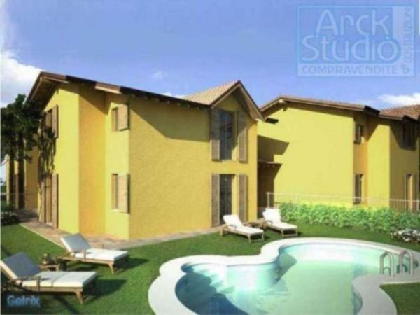 Villa in vendita a Cassano d'Adda, Con giardino, 190 mq - Foto 12