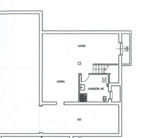 Villa in vendita a Cassano d'Adda, Con giardino, 190 mq - Foto 3
