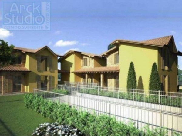 Villa in vendita a Cassano d'Adda, Con giardino, 190 mq - Foto 21