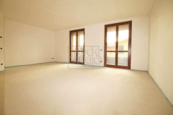 Appartamento in vendita a Pozzo d'Adda, Con giardino, 115 mq - Foto 5