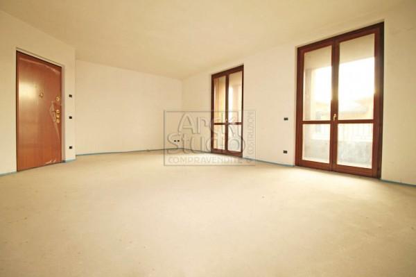 Appartamento in vendita a Pozzo d'Adda, Con giardino, 115 mq - Foto 12