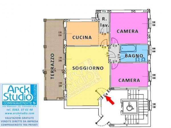 Appartamento in vendita a Pozzo d'Adda, Con giardino, 115 mq - Foto 16