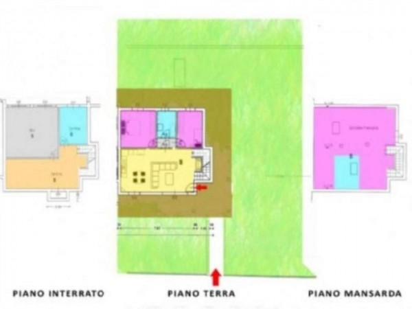 Villa in vendita a Fara Gera d'Adda, Con giardino, 200 mq - Foto 12