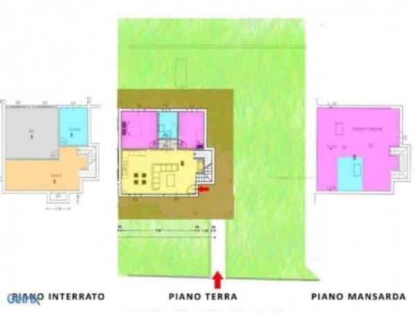 Villa in vendita a Fara Gera d'Adda, Con giardino, 200 mq - Foto 2