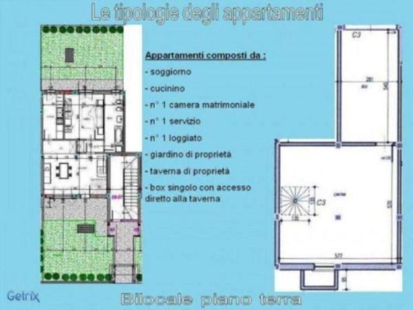 Appartamento in vendita a Fara Gera d'Adda, Con giardino, 95 mq - Foto 4