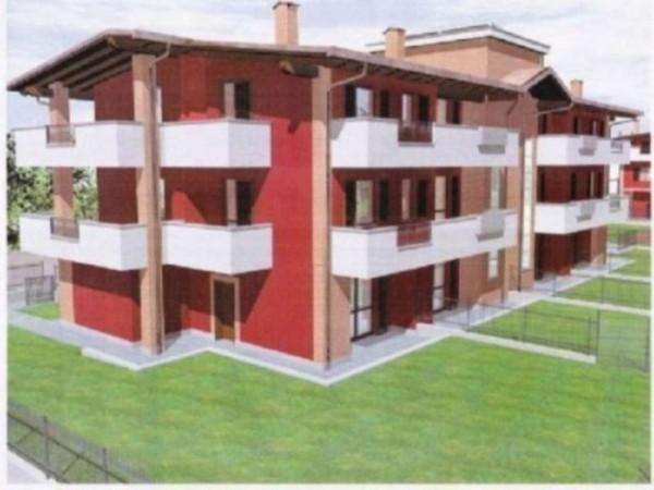 Appartamento in vendita a Fara Gera d'Adda, Con giardino, 116 mq - Foto 5