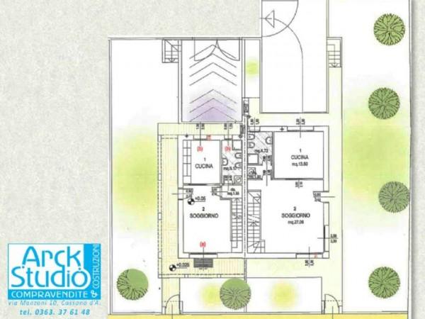 Villa in vendita a Casirate d'Adda, Con giardino, 130 mq - Foto 11