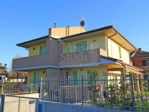 Villa in vendita a Casirate d'Adda, Con giardino, 130 mq - Foto 8