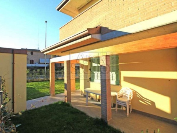 Villa in vendita a Casirate d'Adda, Con giardino, 130 mq - Foto 9