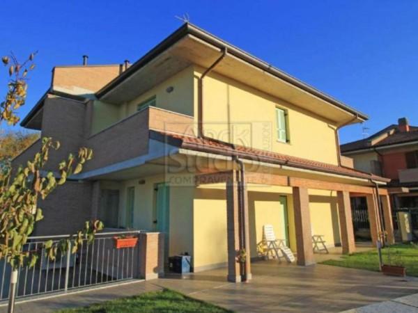Villa in vendita a Casirate d'Adda, Con giardino, 130 mq - Foto 13