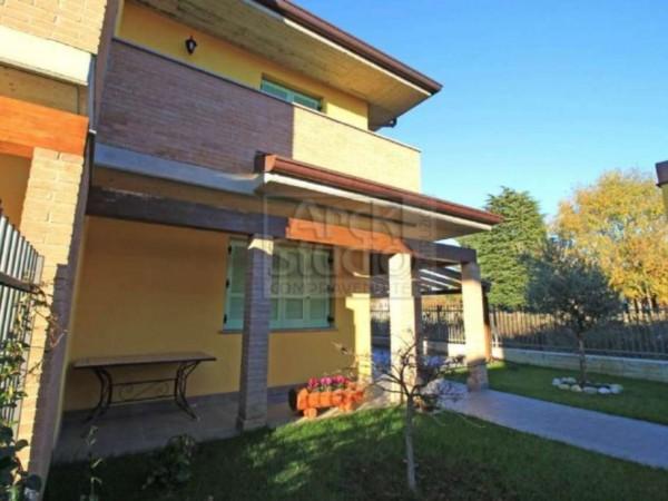 Villa in vendita a Casirate d'Adda, Con giardino, 130 mq - Foto 4