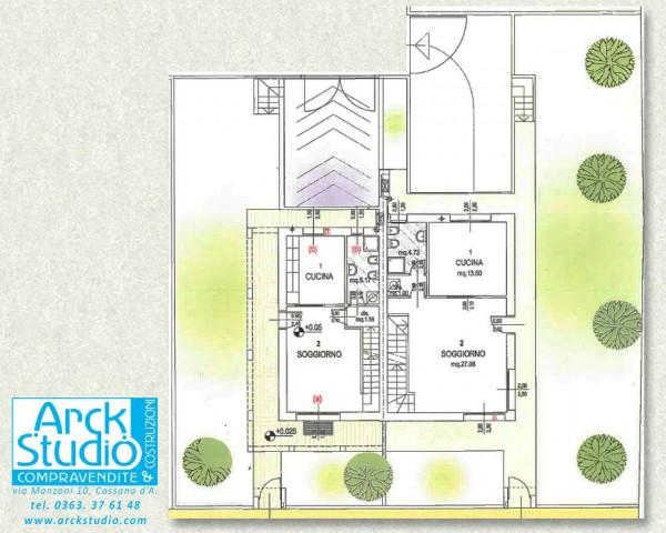 Villa in vendita a Casirate d'Adda, Con giardino, 130 mq - Foto 3