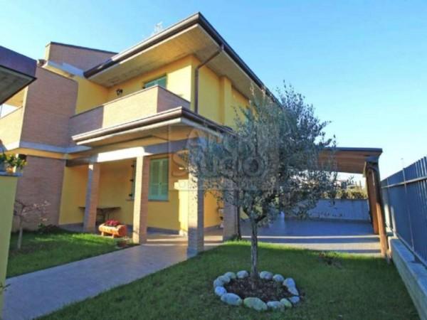 Villa in vendita a Casirate d'Adda, Con giardino, 130 mq - Foto 6