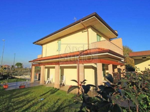 Villa in vendita a Casirate d'Adda, Con giardino, 130 mq - Foto 12