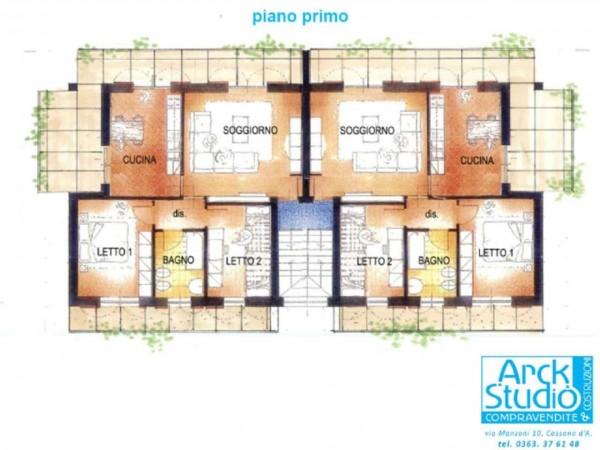 Appartamento in vendita a Casirate d'Adda, Casirate Vic. Treviglio, Con giardino, 99 mq - Foto 5