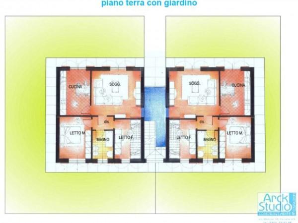 Appartamento in vendita a Casirate d'Adda, Casirate Vic. Treviglio, Con giardino, 99 mq - Foto 6