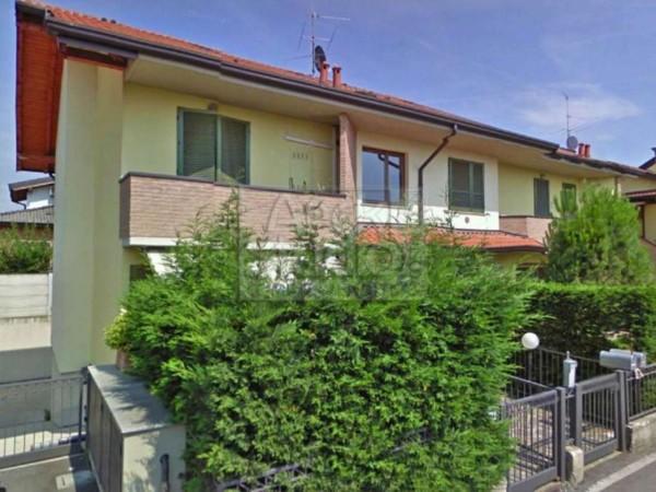 Appartamento in vendita a Casirate d'Adda, Casirate Vic. Treviglio, Con giardino, 99 mq - Foto 3