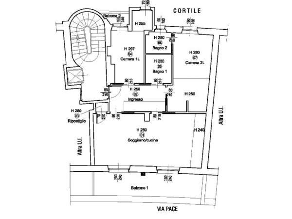 Appartamento in vendita a Milano, Tribunale - P.ta Romana - Centro Storico, 140 mq - Foto 3