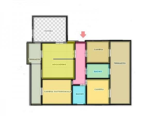 Appartamento in vendita a Legnano, San Paolo, 135 mq - Foto 2