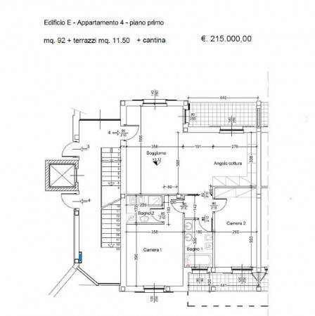 Appartamento in vendita a Caronno Pertusella, Centro Storico, Con giardino, 95 mq - Foto 3