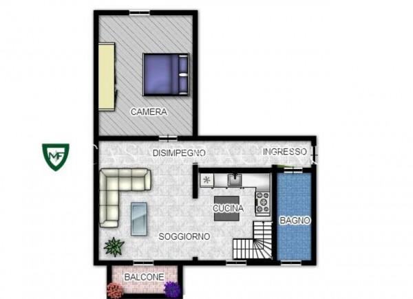 Appartamento in vendita a Varese, Con giardino, 95 mq - Foto 3