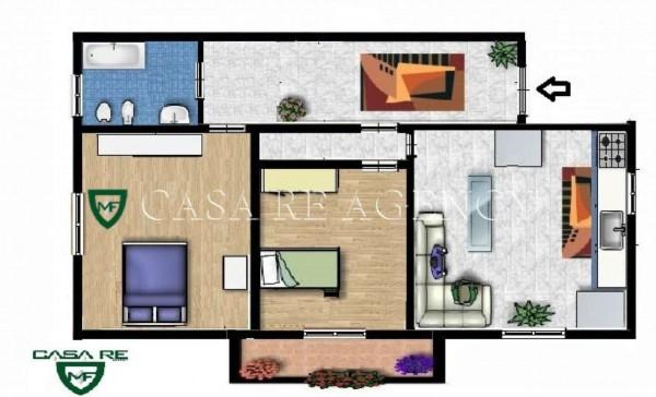Appartamento in vendita a Varese, Viale Valganna, Con giardino, 85 mq - Foto 2